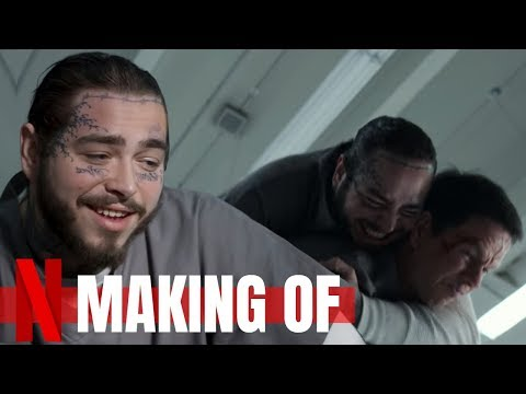 SPENSER CONFIDENTIAL: Mark Wahlberg vs Post Malone Fight Scene | Making Of | Netflix Film 2020