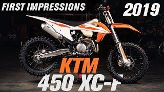 1. 2019 KTM 450 XC-F | First Impressions