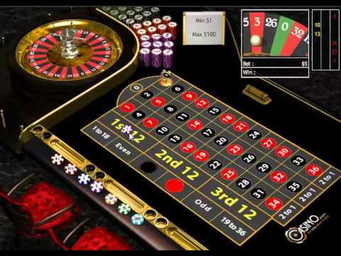 European Roulette Strategy – Safe and good strategy to play and win.
