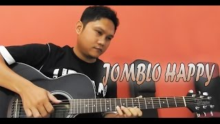 Gamma 1 - Jomblo happy Cover Guitar Chord & Tutorial Melodi By Sobat P