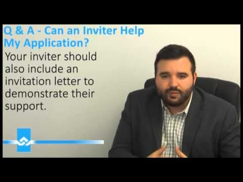 How to Draft an Invitation Letter for Visitor Visa Video