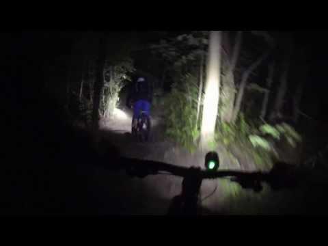 4000 lumen Mountain Bike Lights test (6-LED Cree XM-L) HD