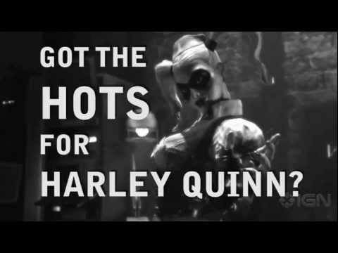 Batman Arkham City:  Behind Harley's Hot Moves (видео)
