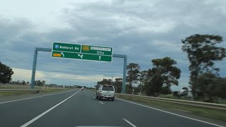 Western Freeway - Beaufort to Melbourne (via Ballarat), Victoria