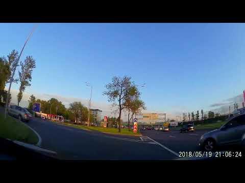 Авария в Питере на Пулковском шоссе