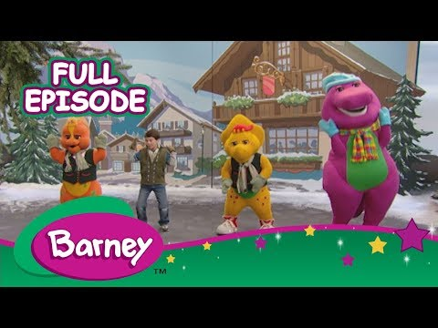 🌎🎶 Barney's Around the World Adventure - Part 1 (Full Episode)