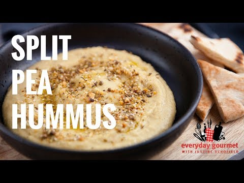 Split Pea Hummus Everyday Gourmet S8 E3