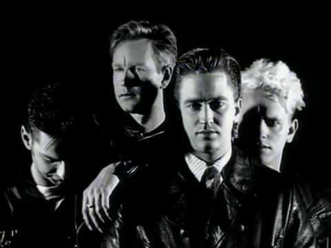 Music video by Depeche Mode performing Enjoy The Silence (Single Version) (2006 Digital Remaster).