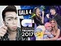 OT 2017 Gala 4 (REACCIÓN) | MALBERT