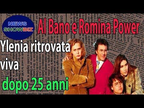 Al Bano e Romina Power: Ylenia ritrovata viva dopo 25 anni, vero di sorpresa