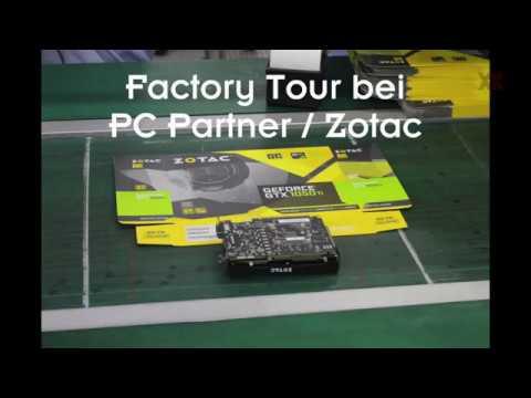 Die Entstehung einer Zotac-Grafikkarte bei PC Partner