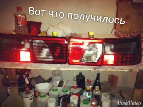 Ваз 2112 фонари клюшки снимок