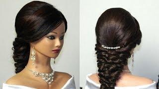 накладные волосы свадебные прически длинные волосы