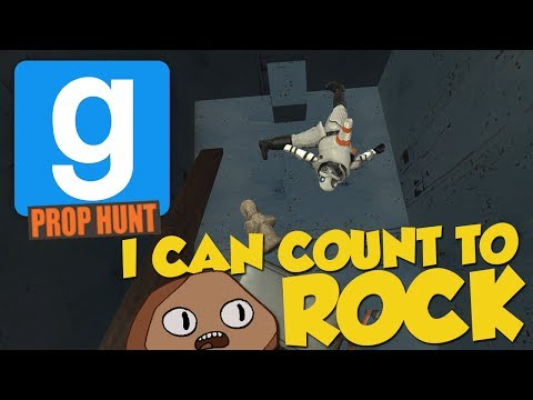 I CAN COUNT TO ROCK! - GMod Prop Hunt Funny Moments (Garry's Mod) (видео)