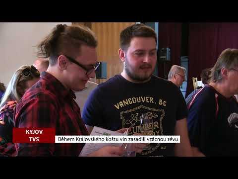 TVS: Kyjov - Během Královského koštu vín zasadili vzácnou révu