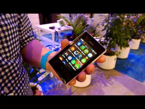 Asha - Here's a quick hands-on with the Nokia Asha 503. From the post on http://unleashthephones.com.