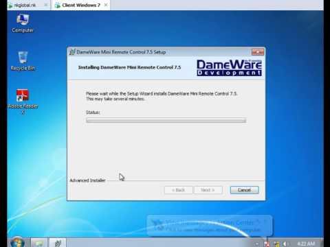 Remote Services (Dameware Mini Remote Control)