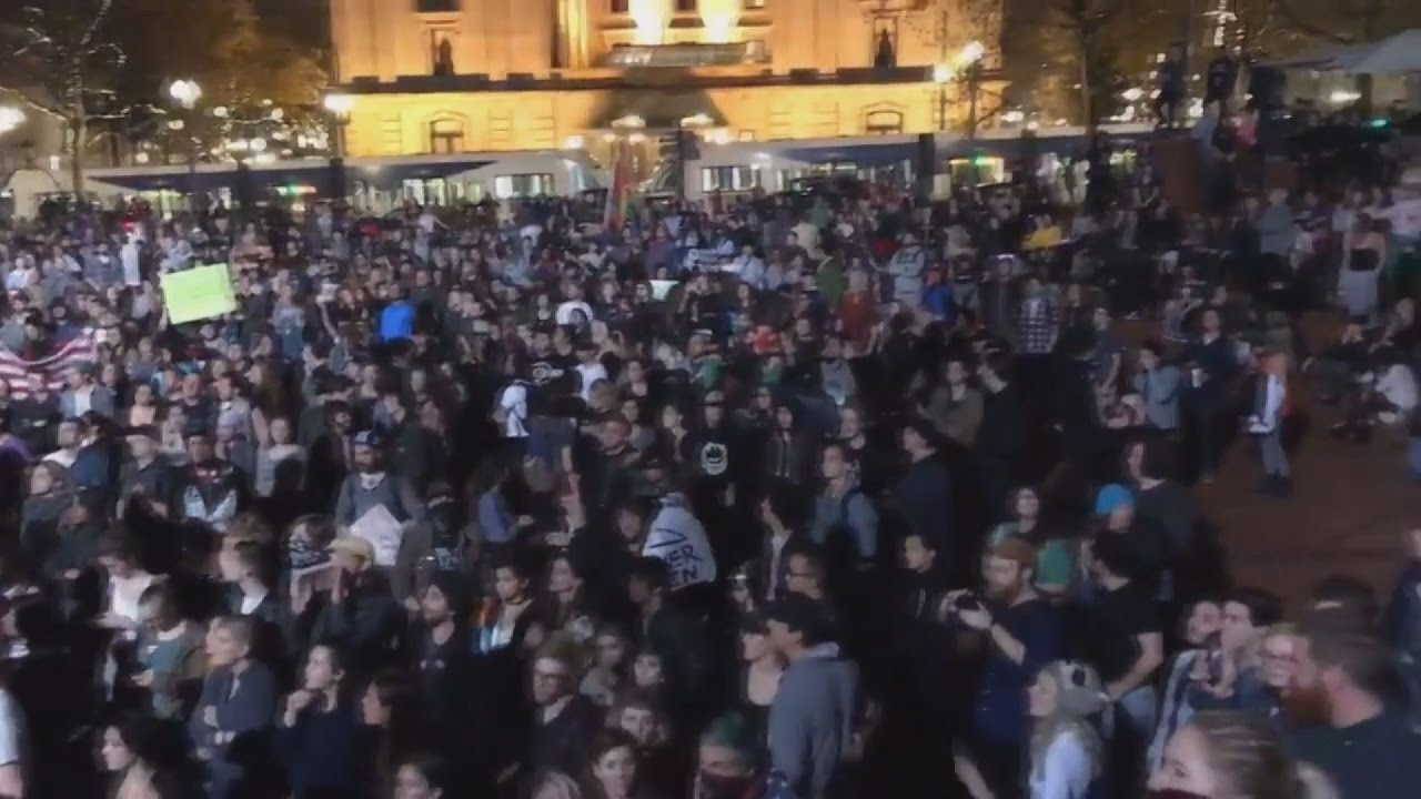 Mαζικές διαδηλώσεις στις ΗΠΑ κατά του Ντόναλντ Τραμπ