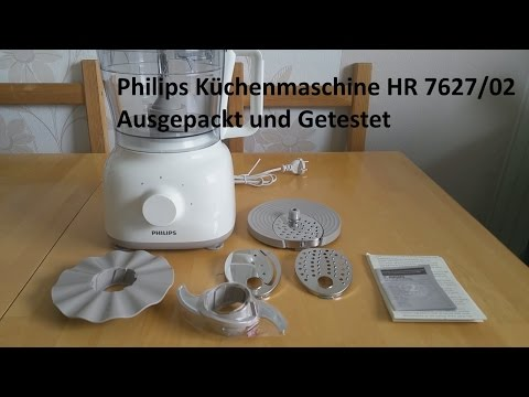 Philips Küchenmaschine HR 7627/02 (Ausgepackt und Getestet)