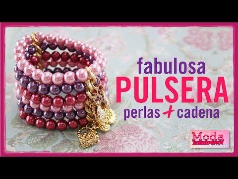 Kit 23189 Como hacer una pulsera de perlas de colores con Adri Muñoz Episodio 1