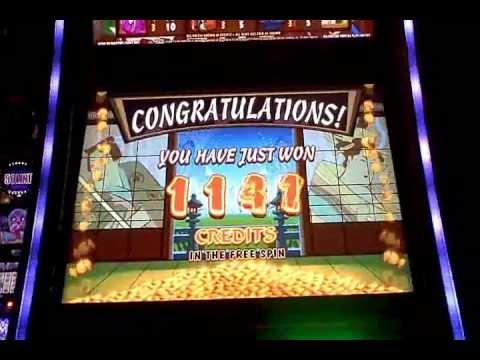 KARATE PIG Slot Machine Bonus - AC Coin - Revel ~ Atlantic City