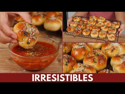 El Pan con Ajo perfecto para acompañar tus comidas, Nudos de Ajo Caseros   Katastrofa La Cocina
