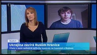 Ukrajina zavírá Rusům hranice