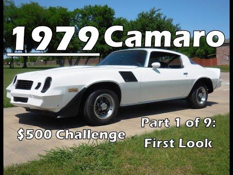 Will It Run? 1979 Chevrolet Camaro $500 Challenge Part 1 of 9