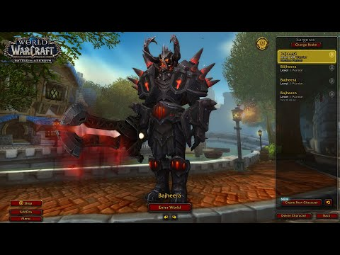 Bajheera - 468 Arms Warrior 3v3 as WLD (Full Session) - WoW BFA 8.3 PvP Season 4