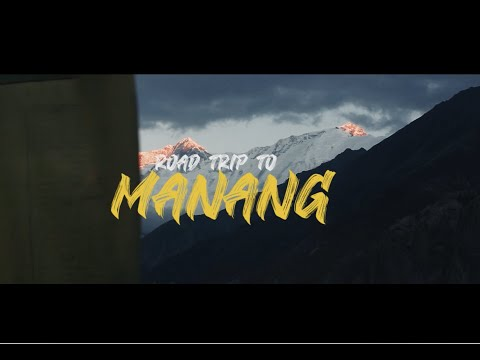 Road way to Manang | One of dangerous roads in Nepal