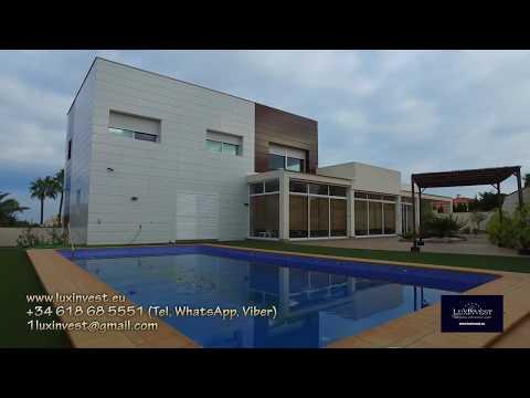 Вилла в стиле хай-тек в Ла Нусия! Купить дом на побережье Коста Бланка, Испания