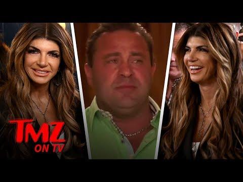 Teresa Giudice Smiles Through Pain Hours After Joe's Taken Into ICE Custody | TMZ TV