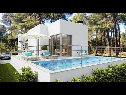 Недорого новые современные виллы в пригороде Бенидорма 285 - 375 000 евро - город Финестрат
