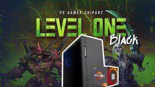 O Computador Mais Barato da ChipArt! Level One AMD Black (Maio/2019)