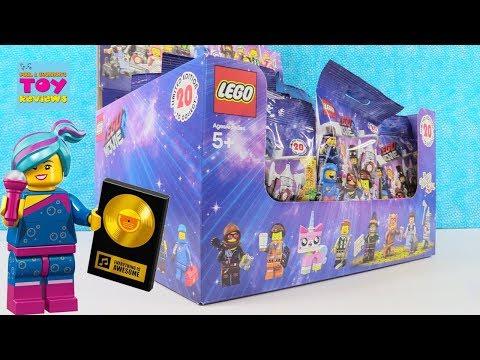 Lego Movie 2 Series Minifig Mini Figures Unikitty Wizard Of Oz Unboxing | PSToyReviews