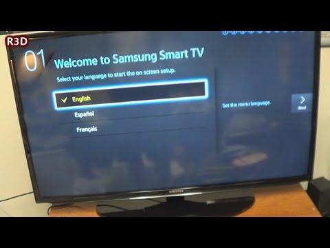 Samsung 40 Inch LED Smart HDTV - UN40H5203AF Unboxing