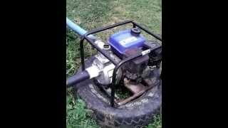 4. motobomba  para agua (bomba de agua 6.5 hp)