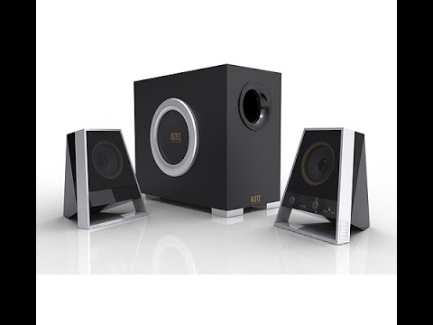 Altec Lansing 2621 Desktop/Multi Media Speakers Unboxing and Sound Review