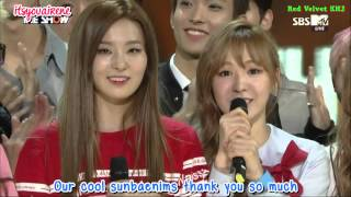 Video [ENGSUB] 150915 Red Velvet 'Dumb Dumb' 1st WIN MP3, 3GP, MP4, WEBM, AVI, FLV Juli 2018