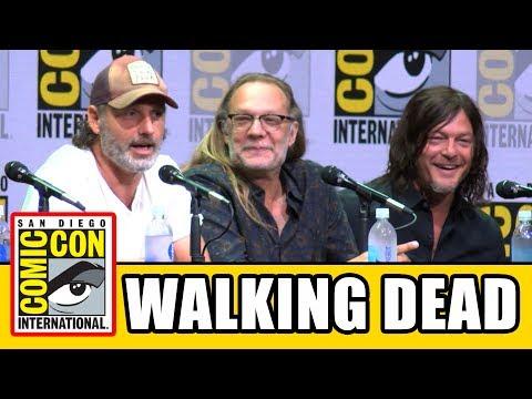 The Walking Dead Comic Con 2017 Panel