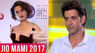 Video Kangana Ranaut FIRST Public Appearance After Hrithik Roshan's Interview At Mami Film Festival 2017 MP3, 3GP, MP4, WEBM, AVI, FLV Oktober 2017