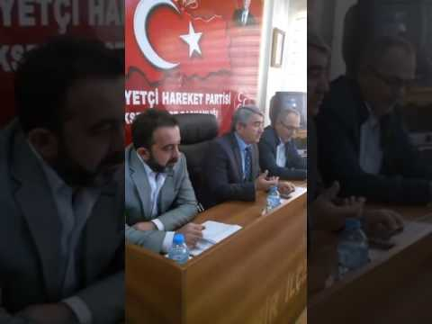 REFERANDUM ÖNCESİNDE AKP-MHP RESTLEŞMESİ!