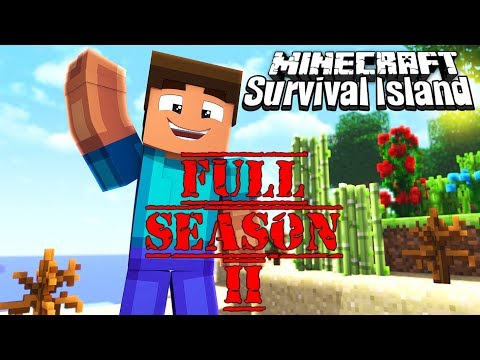 Survival Island Timelapse FULL SEASON 2 [Episode 1-45]