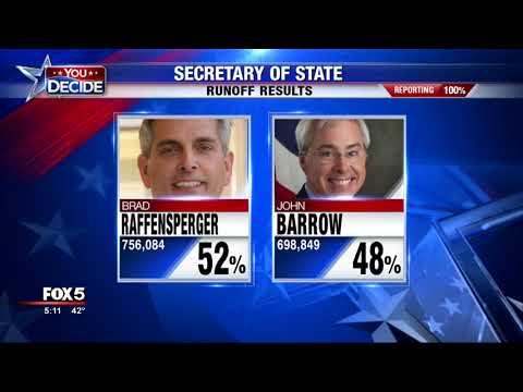 Georgia's new secretary of state
