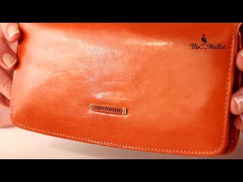 Эргономичный кожаный женский кошелёк Tony Perotti Topkapi Tk-3448 - обзор от М… видео