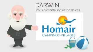 Cas Darwin - collecte d'opt'ins pour Homair