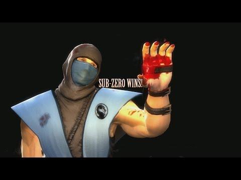 Mortal Kombat 9 Fatalities Swap Sub Zero