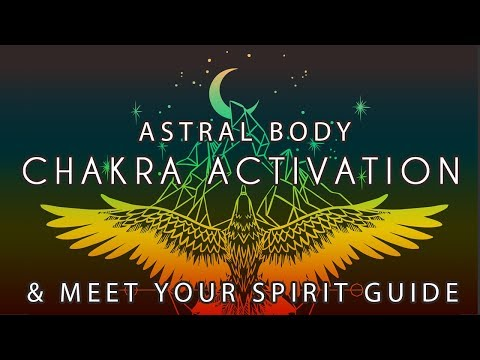 Guided Meditation ~ Chakra Activation & Meet your Spirit Guide ~ Susannah IsThisADream