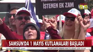 TÜRKİYE KAMU-SEN ATATÜRK ONUR ANITI'NA ÇELENK SUNDU