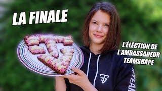 AMBASSADEUR TEAMSHAPE LA FINALE !! - FitClaire